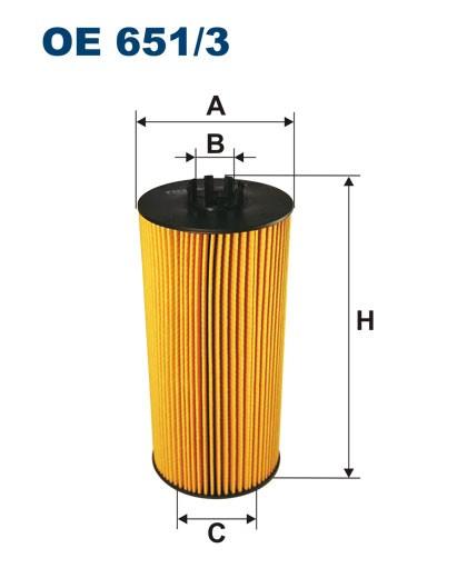 Filtr oleju OE 651/3 (OE6513) FILTRON