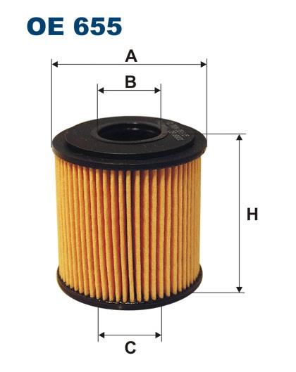 Filtr oleju OE 655 (OE655) FILTRON