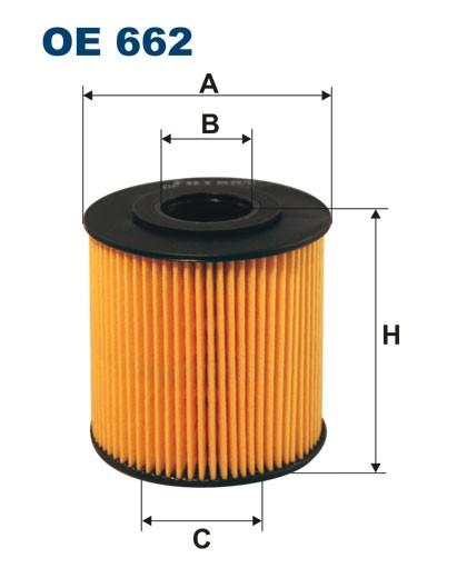 Filtr oleju OE 662 (OE662) FILTRON