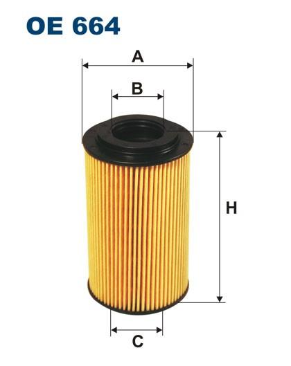 Filtr oleju OE 664 (OE664) FILTRON