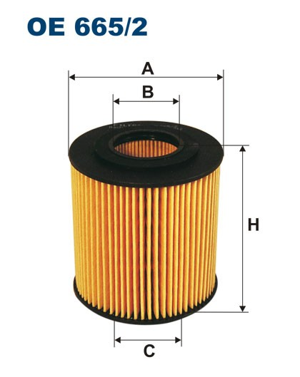Filtr oleju OE 665/2 (OE6652) FILTRON