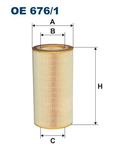 Filtr oleju OE 676/1 (OE6761) FILTRON
