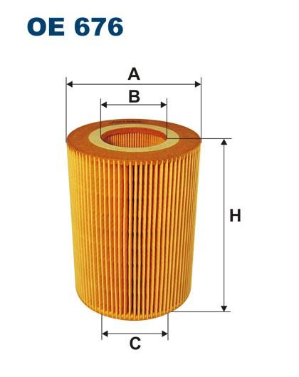 Filtr oleju OE 676 (OE676) FILTRON