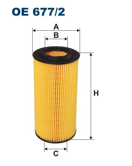 Filtr oleju OE 677/2 (OE6772) FILTRON