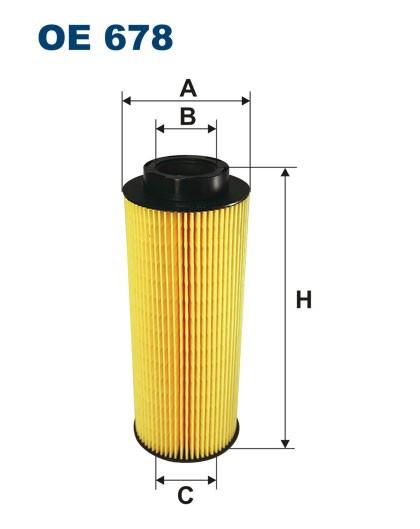 Filtr oleju OE 678 (OE678) FILTRON