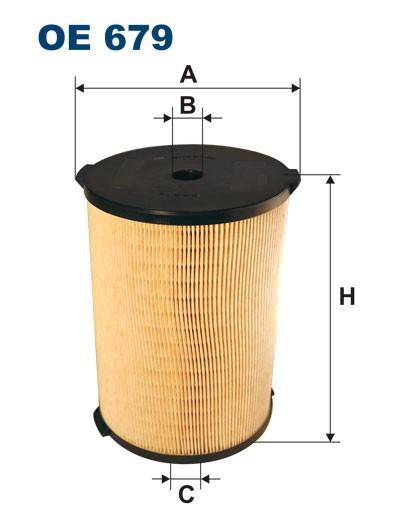 Filtr oleju OE 679 (OE679) FILTRON