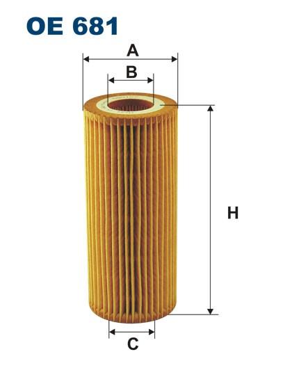 Filtr oleju OE 681 (OE681) FILTRON
