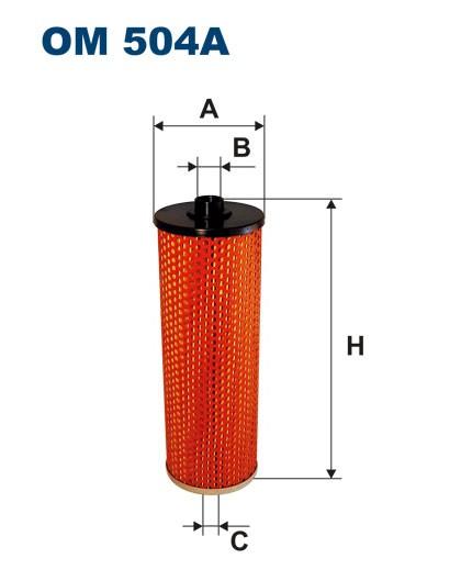 Filtr oleju OM 504A (OM504A) FILTRON