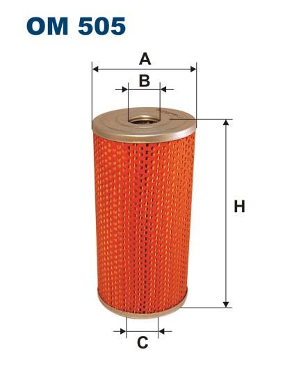 Filtr oleju OM 505 (OM505) FILTRON