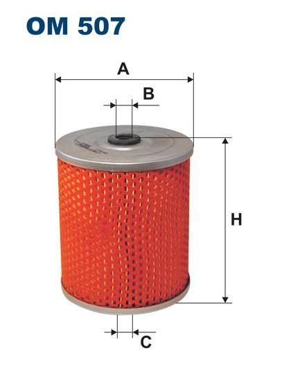Filtr oleju OM 507 (OM507) FILTRON