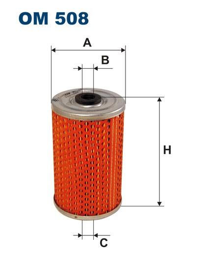 Filtr oleju OM 508 (OM508) FILTRON