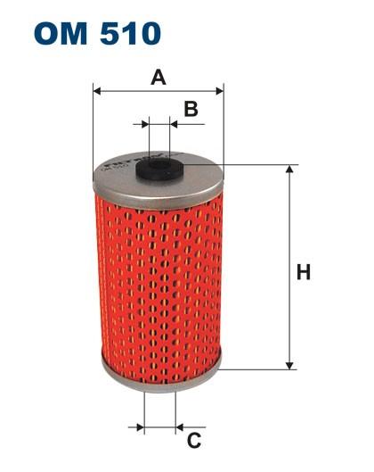 Filtr oleju OM 510 (OM510) FILTRON