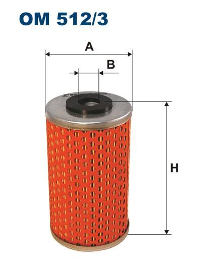 Filtr oleju OM 512/3 (OM5123) FILTRON