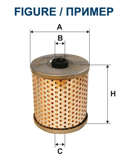 Filtr oleju OM 512/1 FILTRON [OM5121]