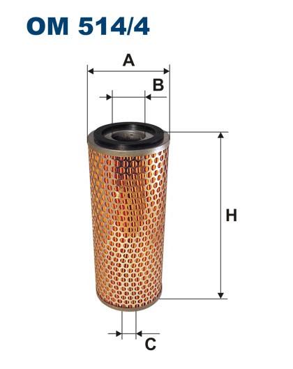 Filtr oleju OM 514/4 (OM5144) FILTRON