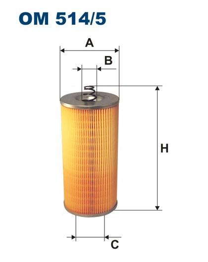 Filtr oleju OM 514/5 (OM5145) FILTRON