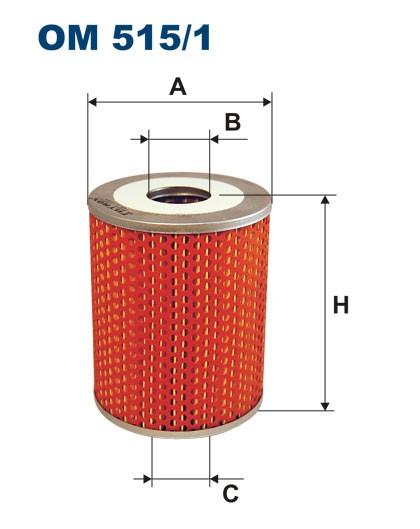 Filtr oleju OM 515/1 (OM5151) FILTRON