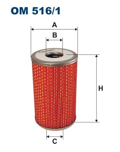 Filtr oleju OM 516/1 (OM5161) FILTRON