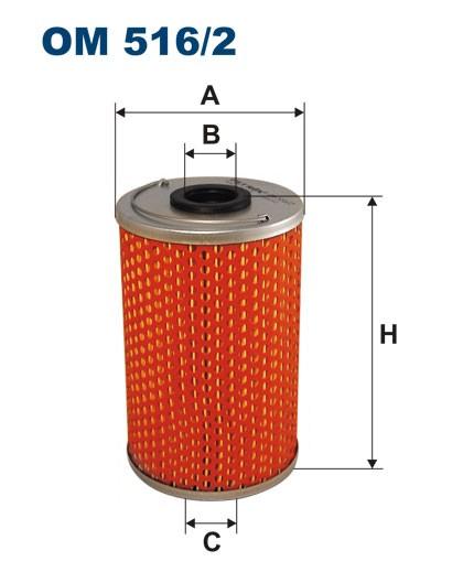 Filtr oleju OM 516/2 (OM5162) FILTRON
