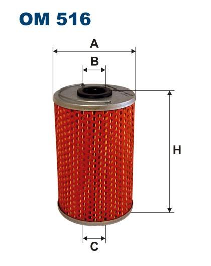 Filtr oleju OM 516 (OM516) FILTRON