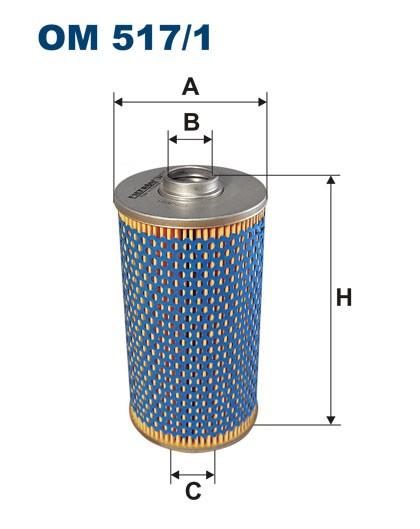 Filtr oleju OM 517/1 (OM5171) FILTRON