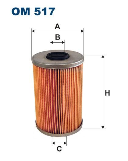 Filtr oleju OM 517 (OM517) FILTRON