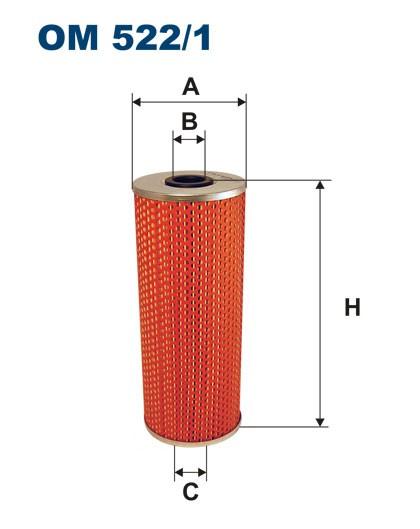 Filtr oleju OM 522/1 (OM5221) FILTRON