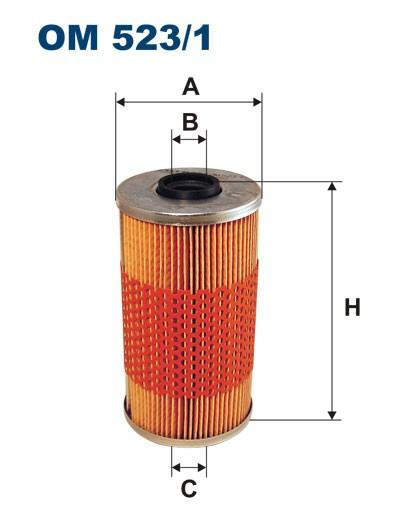 Filtr oleju OM 523/1 (OM5231) FILTRON