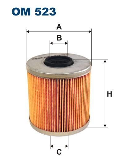Filtr oleju OM 523 (OM523) FILTRON