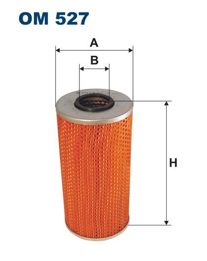 Filtr oleju OM 527 (OM527) FILTRON
