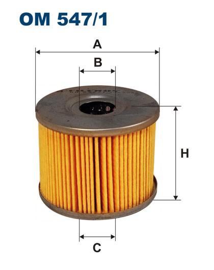 Filtr oleju OM 547/1 (OM5471) FILTRON