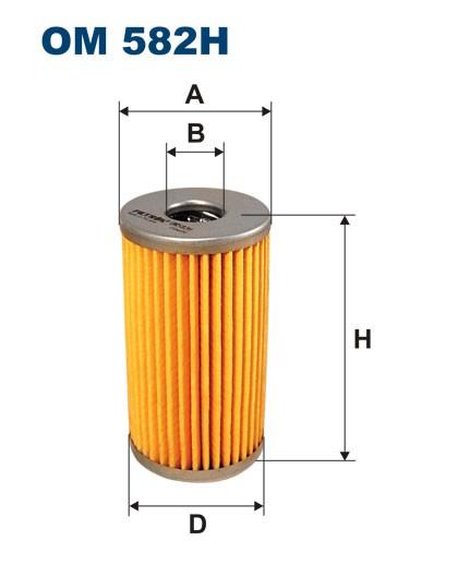 Filtr oleju OM 582H (OM582H) FILTRON