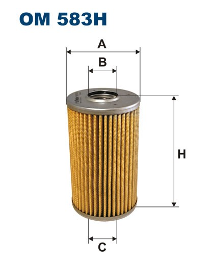 Filtr oleju OM 583H (OM583H) FILTRON