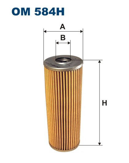 Filtr oleju OM 584H (OM584H) FILTRON