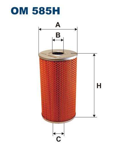 Filtr oleju OM 585H (OM585H) FILTRON