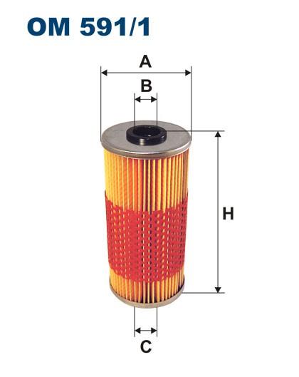Filtr oleju OM 591/1 (OM5911) FILTRON