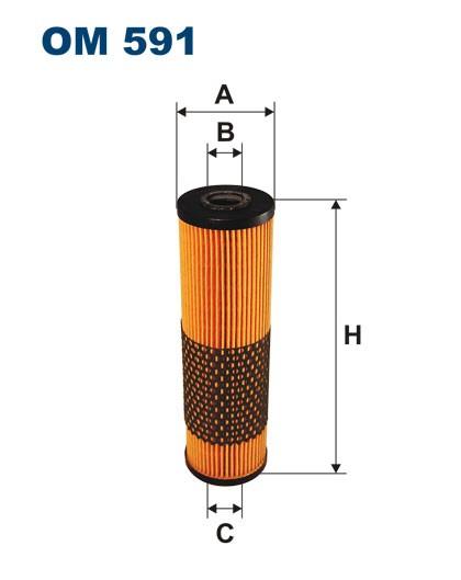 Filtr oleju OM 591 (OM591) FILTRON