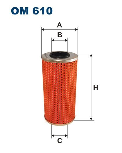 Filtr oleju OM 610 (OM610) FILTRON