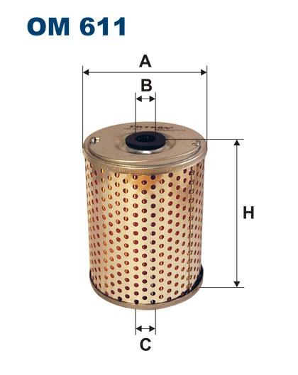 Filtr oleju OM 611 (OM611) FILTRON