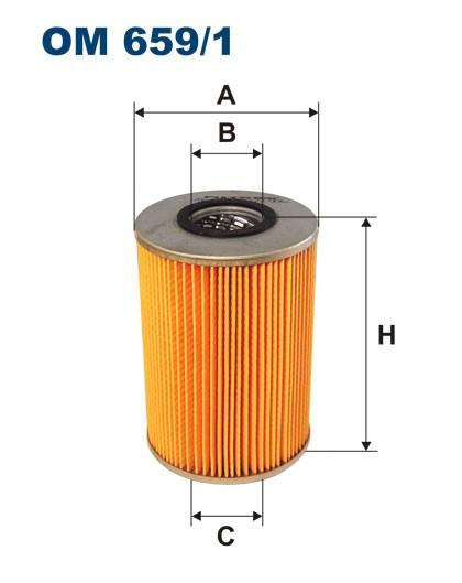 Filtr oleju OM 659/1 (OM6591) FILTRON