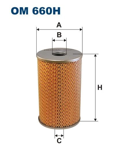 Filtr oleju OM 660H (OM660H) FILTRON