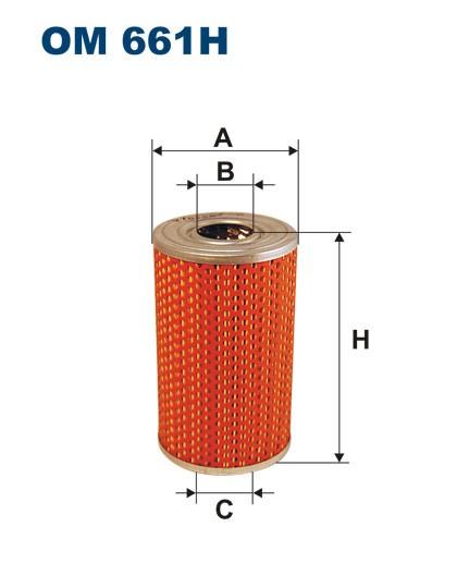Filtr oleju OM 661H (OM661H) FILTRON