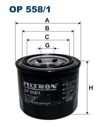 Filtr oleju OP 558/1 [OP5581] FILTRON