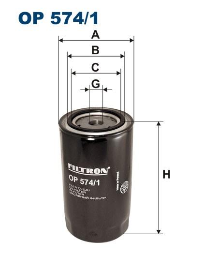 Filtr oleju OP 574/1 FILTRON [OP5741]