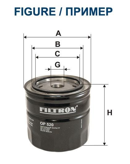 Filtr oleju OP 580/1 [OP5801] FILTRON