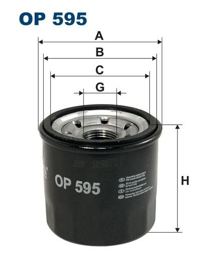 Filtr oleju OP 595 [OP595] FILTRON