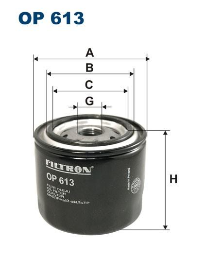 Filtr oleju OP 613 [OP613] FILTRON