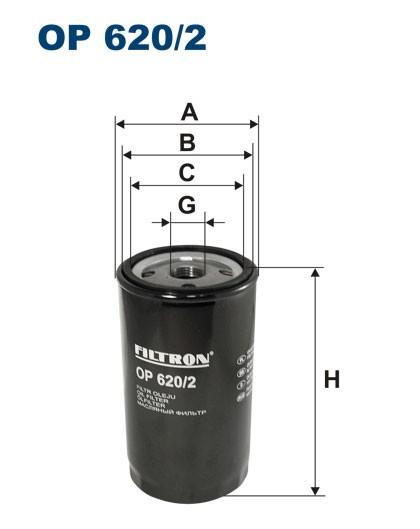 Filtr oleju OP 620/2 [OP6202] FILTRON