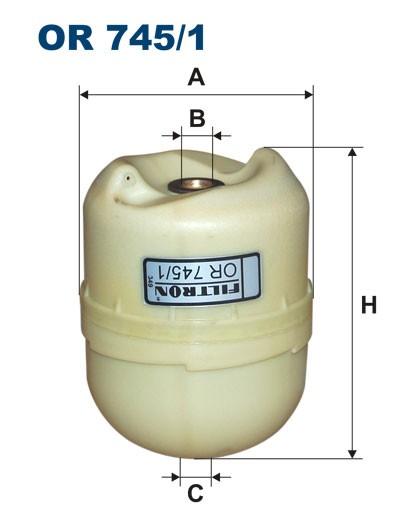 Filtr oleju OR 745/1 [OR7451] FILTRON
