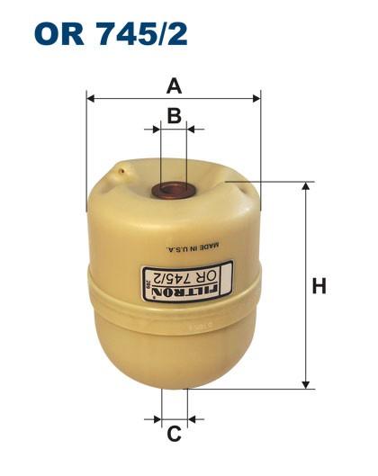 Filtr oleju OR 745/2 [OR7452] FILTRON